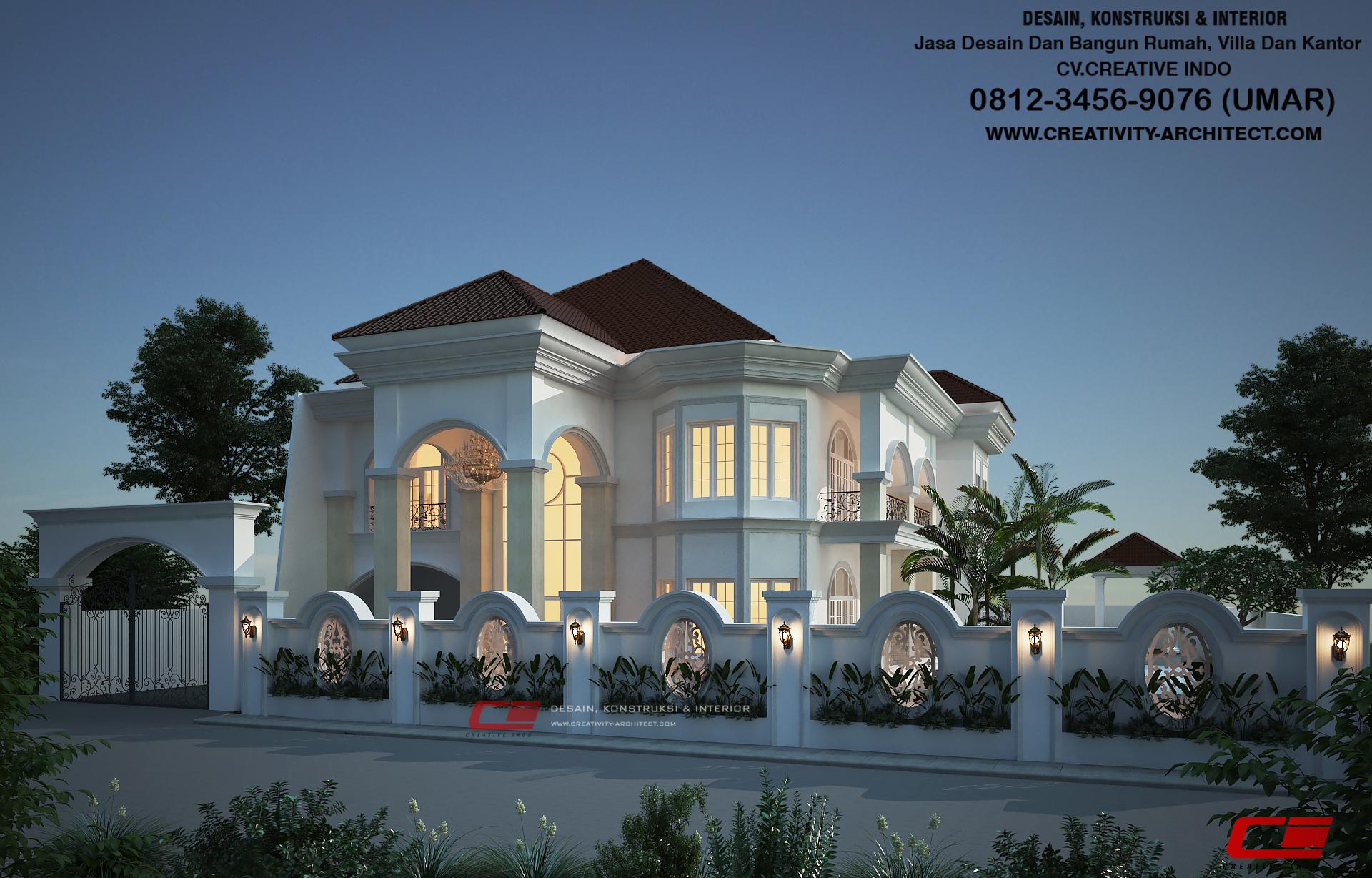 0812 3456 9076 Jasa Desain Rumah Mewah